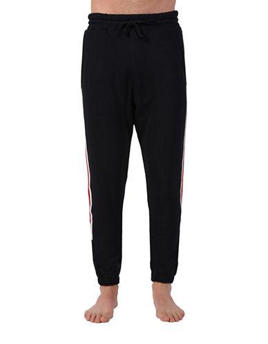 Diesel Drawstring Cotton Sweatpants-BLACK-X-Large 88464064_BLACK_X-Large
