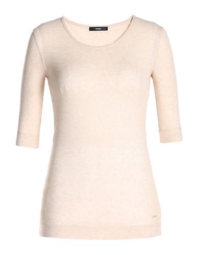 Diesel T-Salut Rib-Knit T-Shirt-PINK-Large 88783059_PINK_Large