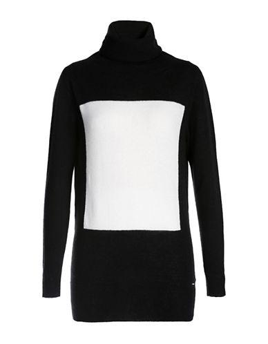 Diesel Wool and Cashmere Blend Pullover-BLACK-Large 88726935_BLACK_Large