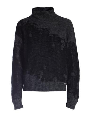 Diesel Plagae Turtleneck Pullover-BLACK-Large 88783044_BLACK_Large
