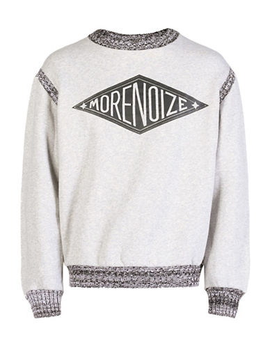 Diesel S-Ribcolour Sweater-GREY-X-Large 88602121_GREY_X-Large