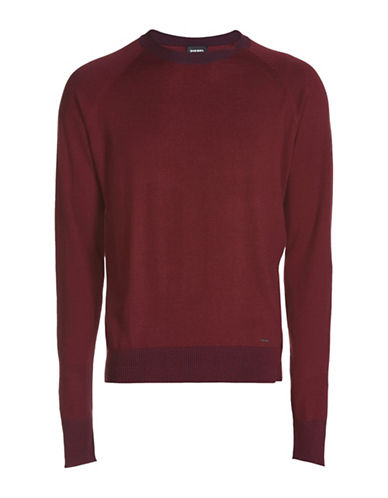 Diesel K-Ante Knit Sweater-RED-Small 88600897_RED_Small