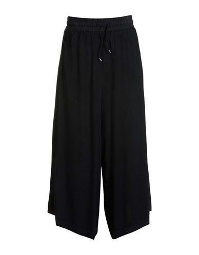 Diesel Vocabilis Wide-Leg Pants-BLACK-X-Small 88613500_BLACK_X-Small