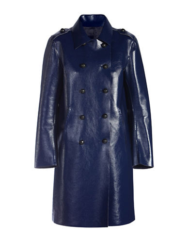 Diesel Reversible Patent Overcoat-BLUE-Small 88613519_BLUE_Small