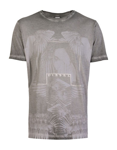 Diesel T-Joe-HO T-Shirt-GREY-X-Large 88602127_GREY_X-Large