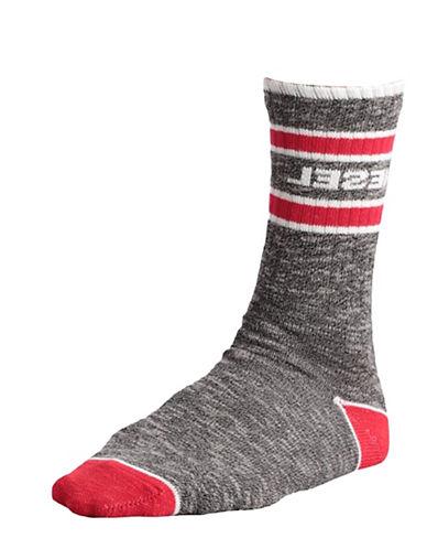 Diesel Ray Melange Socks-SOFT BLACK-Large 88657156_SOFT BLACK_Large