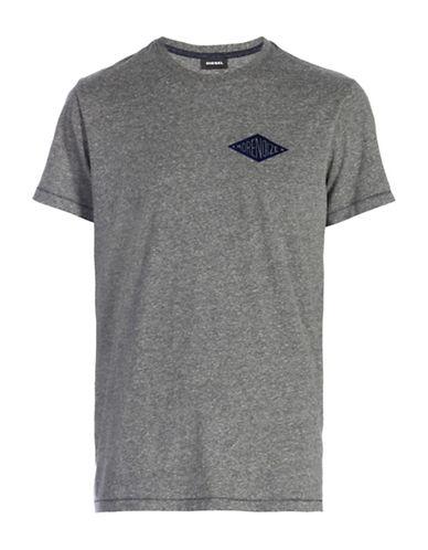 Diesel T-Diego-HC T-Shirt-GREY-Large 88601016_GREY_Large