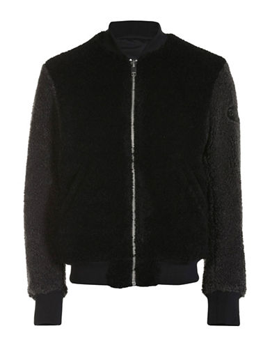 Diesel W-Bluefur Jacket-BLACK-Small 88600908_BLACK_Small