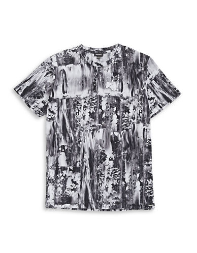 Diesel Joe Marbled T-Shirt-BLACK-Medium 88600961_BLACK_Medium