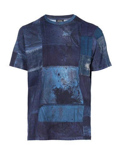 Diesel T-Joe-HY T-Shirt-BLUE-X-Large 88600969_BLUE_X-Large