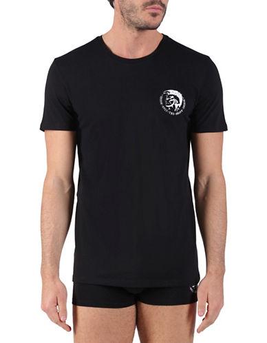 Diesel Randal Heathered T-Shirt-BLACK-Small 88689165_BLACK_Small