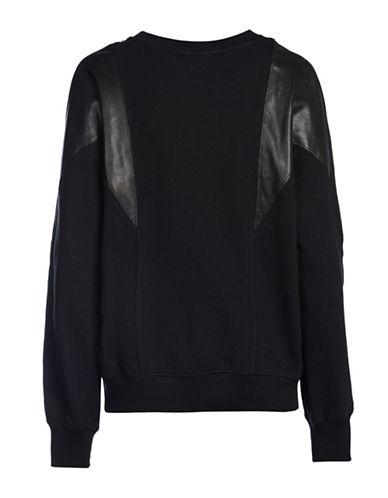 Diesel F-Carmen Sweatshirt-BLACK-Large