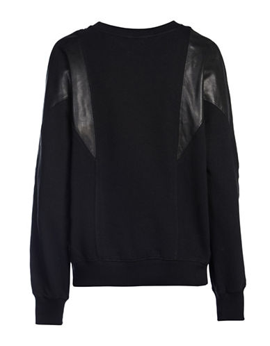 Diesel F-Carmen Sweatshirt-BLACK-Large 88901251_BLACK_Large