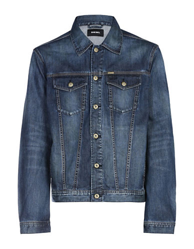 Diesel Nhill Denim Jacket-BLUE-X-Large 89050216_BLUE_X-Large