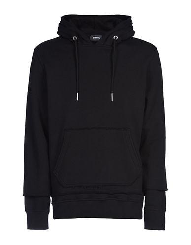 Diesel S-Narcy Hooded Sweatshirt-BLACK-Small 88871118_BLACK_Small