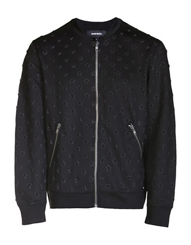 Diesel S-Joe Bomber Jacket-BLACK-Large 88871296_BLACK_Large