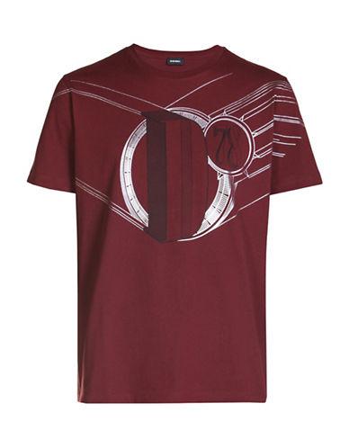 Diesel T-Joe Single Jersey T-Shirt-RED-Medium 88871195_RED_Medium