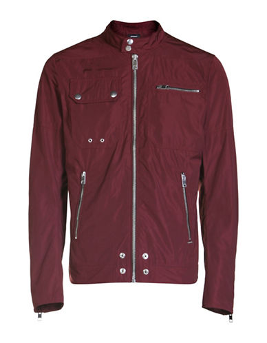 Diesel J-Ride Long Sleeve Jacket-RED-Medium 88871239_RED_Medium