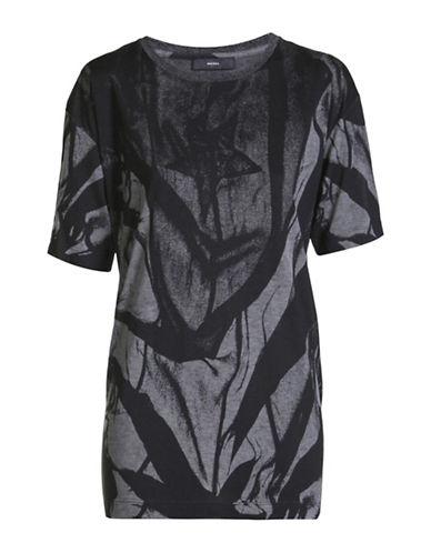Diesel T-Rachel-O T-Shirt-BLACK-Medium 88901265_BLACK_Medium