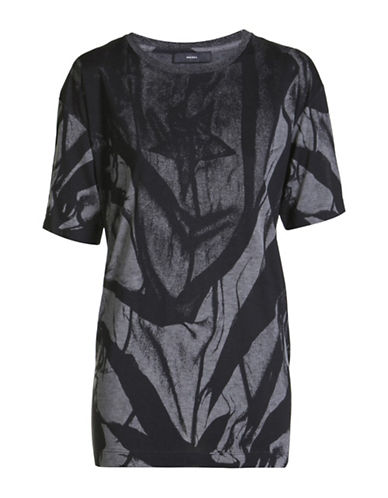Diesel T-Rachel-O T-Shirt-BLACK-Large 88901266_BLACK_Large
