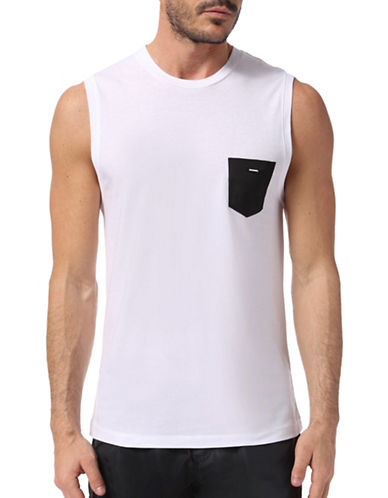 Diesel Adamy Cotton Top-WHITE-X-Large 88887745_WHITE_X-Large