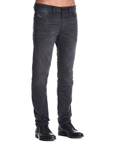 Diesel Thommer Whiskered Jeans-BLACK-29X32