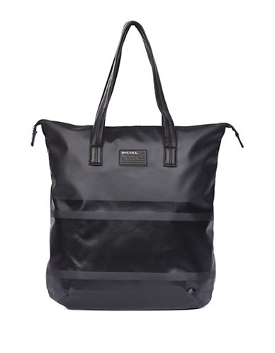 Diesel Iron Traveller Tote-BLACK-One Size 88661441_BLACK_One Size