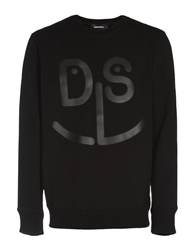 Diesel Jo Sweatshirt-BLACK-Medium 89052829_BLACK_Medium