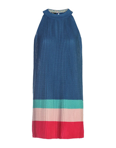 Diesel South Halterneck Dress-BLUE-Small