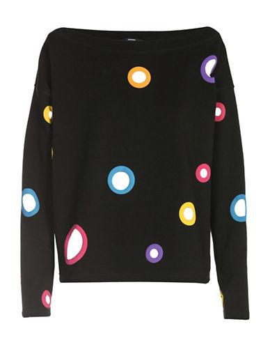 Diesel Printed Puff Sweatshirt-BLACK-Medium 89040790_BLACK_Medium