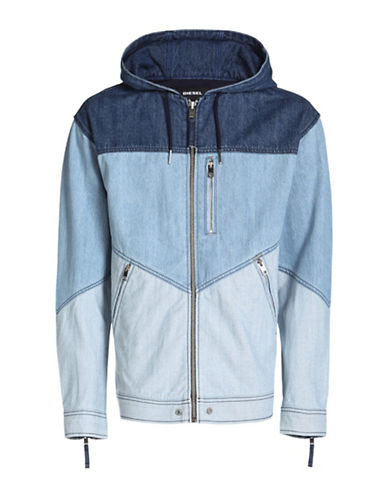 Diesel D-Olaf Denim Hoodie Jacket-BLUE-Medium 89050348_BLUE_Medium