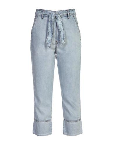 Diesel Lyocel-Cotton Bow Pants-BLUE-26