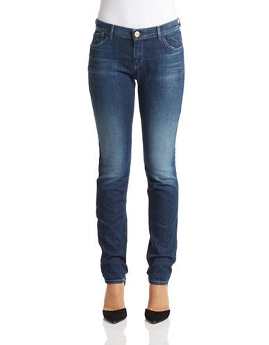 Armani Jeans J28 Medium Rise Skinny Jeans-DENIM-29