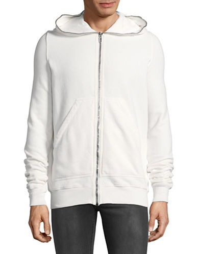Rick Owens Drkshdw Gimp Cotton Hoodie-WHITE-Medium