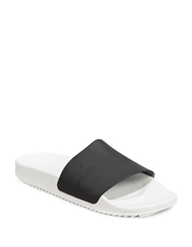 Rick Owens Drkshdw Shower Slides-BLACK-EU 40/US 7