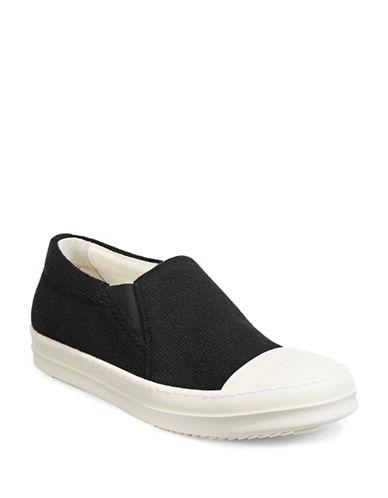 Rick Owens Drkshdw Boat Sneakers-BLACK-EU 39/US 6