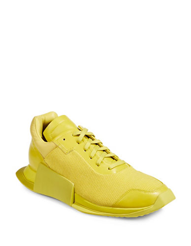 Adidas X Rick Owens New Runners-YELLOW-UK 8/US 9