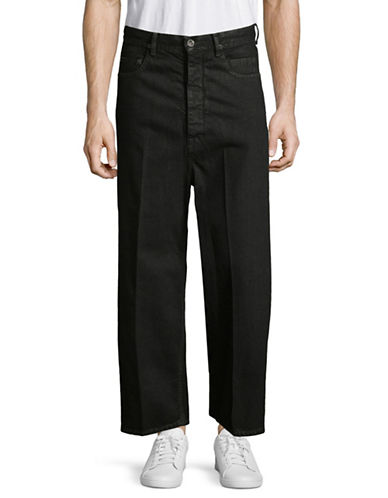 Rick Owens Drkshdw Dustulator Cotton Jeans-BLACK-28