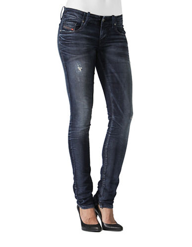 Diesel Grupee Jogg Faded Wash Jeans-BLUE-23