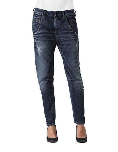 Diesel Distressed Boyfriend-Fit Jeans-BLUE-25