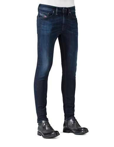 Diesel Stickker Super Slim Fit Jeans-DENIM-31X32