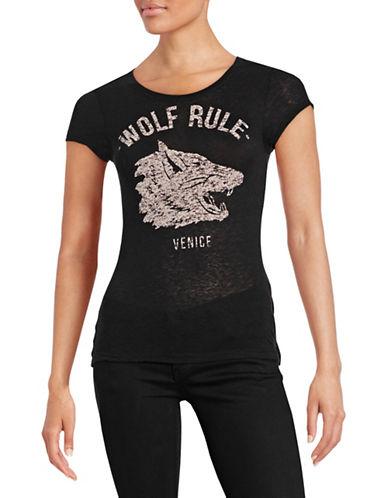 Diesel Silk Graphic T-Shirt-BLACK-XX-Small 88043320_BLACK_XX-Small