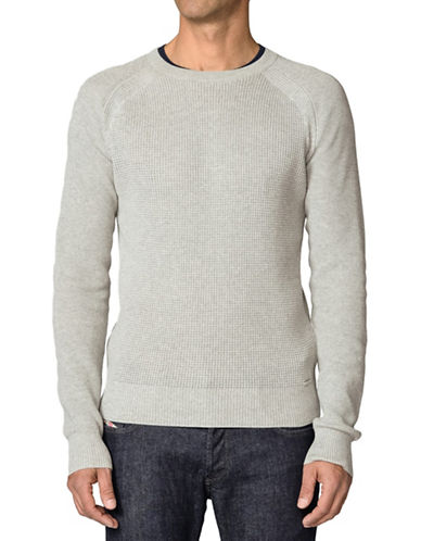 Diesel Crew Neck Sweater-GREY-Small 88040156_GREY_Small