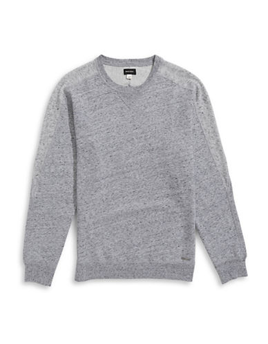 Diesel Gladys Blocked Sweatshirt-GREY-Small 88600832_GREY_Small
