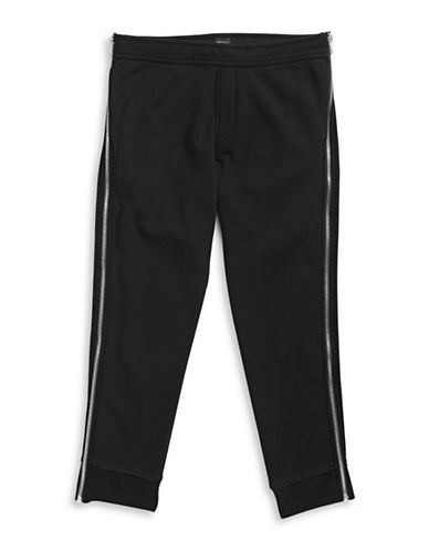 Diesel Full Side Zip Sweatpants-BLACK-X-Large 88040235_BLACK_X-Large