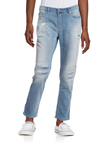 Diesel Rizzo Distressed Jogg Jeans-DENIM-29