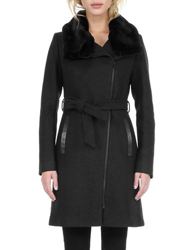 Soia & Kyo Elma Wool-Blend Walker Coat-BLACK-X-Small 88480587_BLACK_X-Small