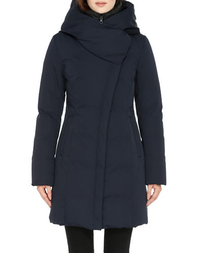 Soia & Kyo Floriane Down Jacket-BLUE-Small 88480593_BLUE_Small
