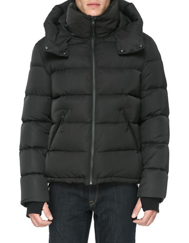 Soia & Kyo Anthony Jacket with Down Fill-BLACK-Medium
