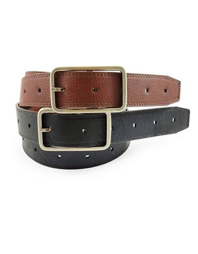 Fashion Focus Reversible Belt-BROWN-Large/X-Large
